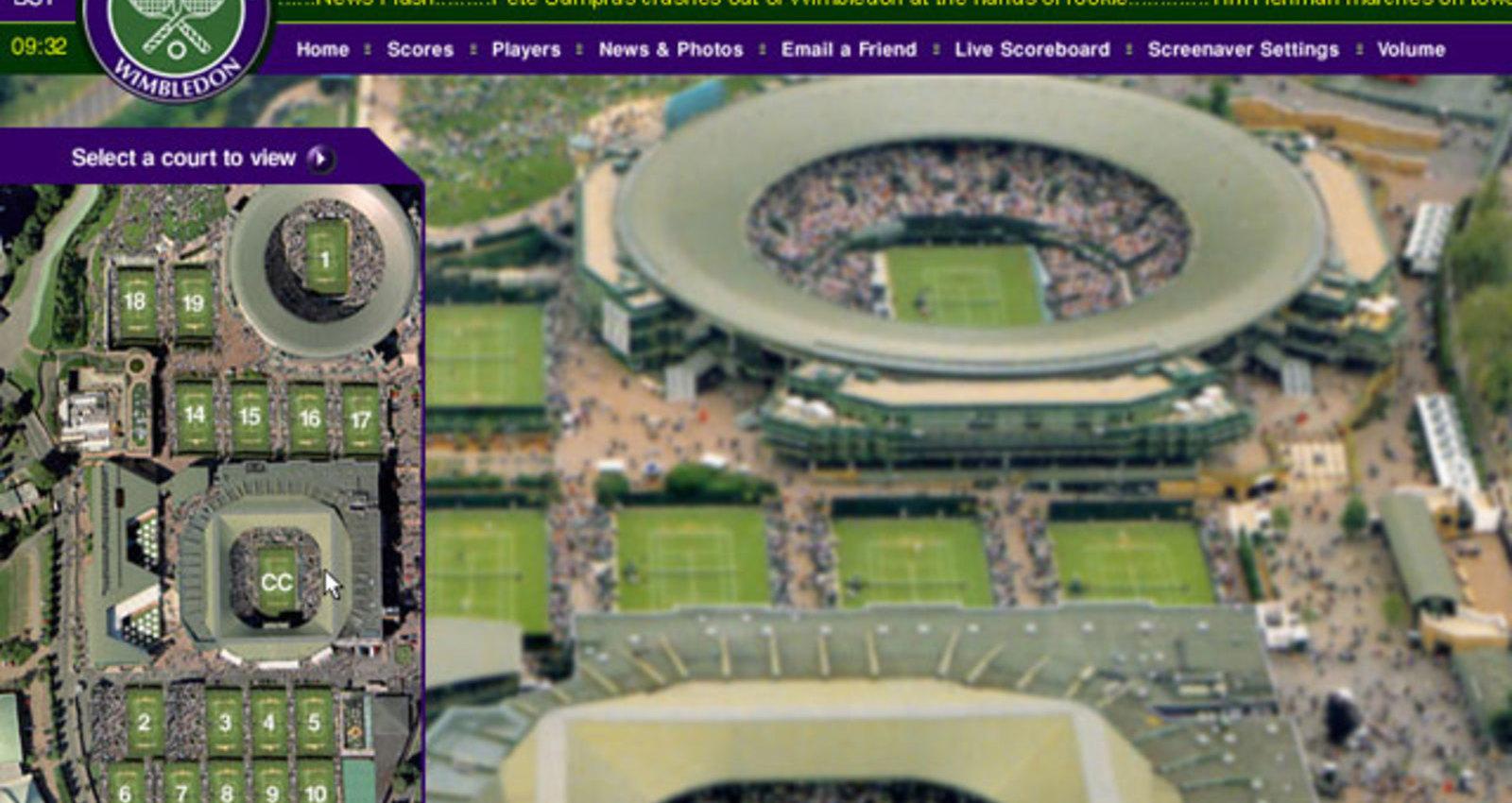 Wimbledon 2003 Screen Saver