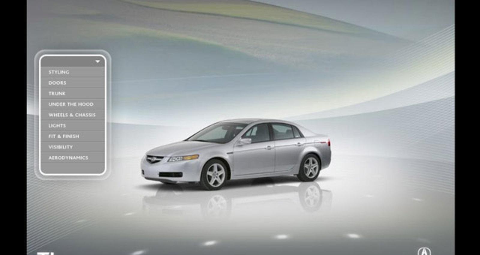 Acura 2004 TL Exterior Showroom