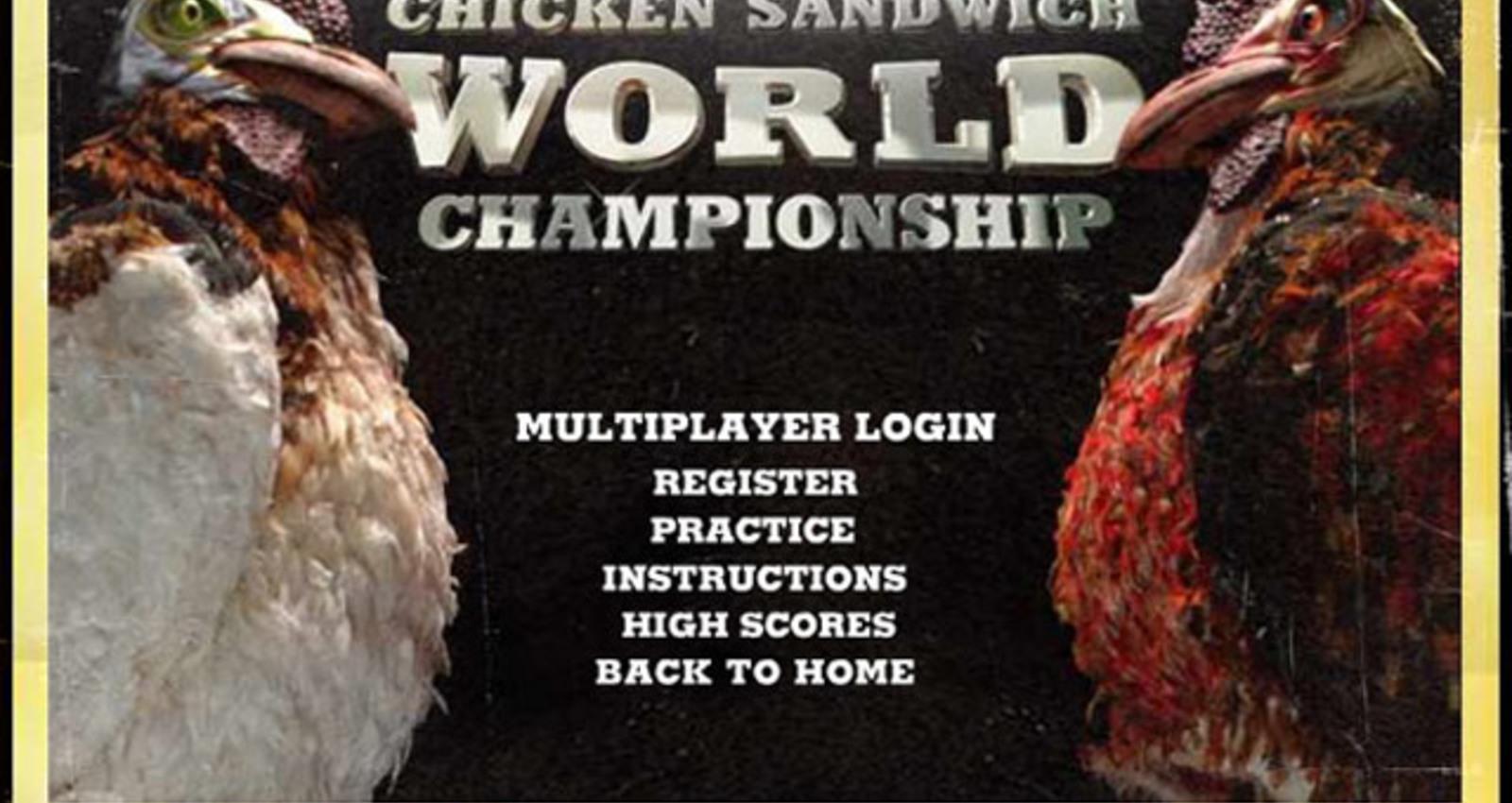 Chicken Fight Website