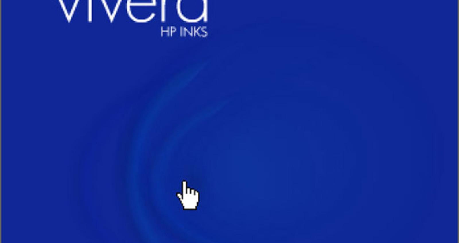 HP Vivera Push Color Banner (Blue)