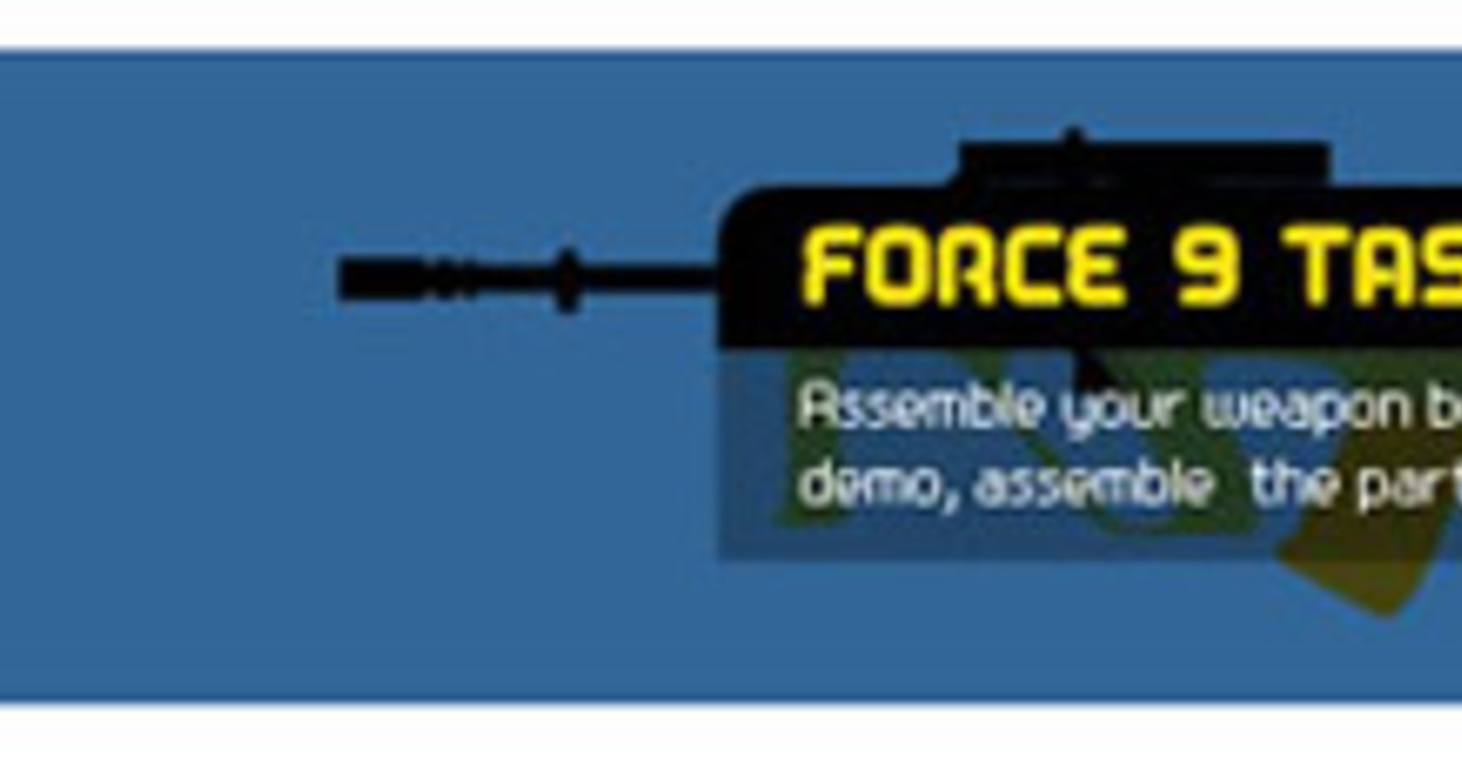 NZ Army Force 9 Rifle