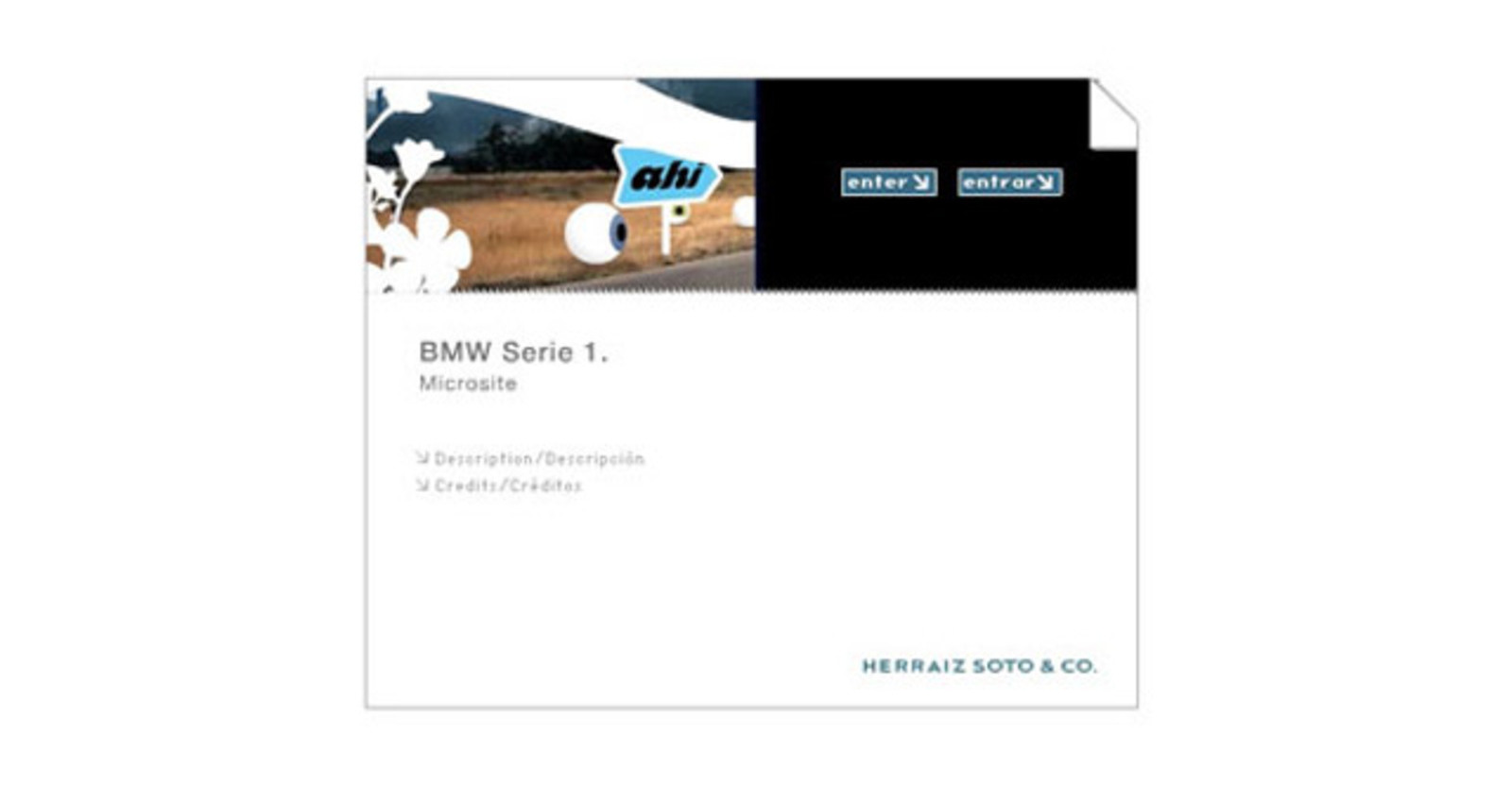 BMW 1-Series Microsite. It?s coming.