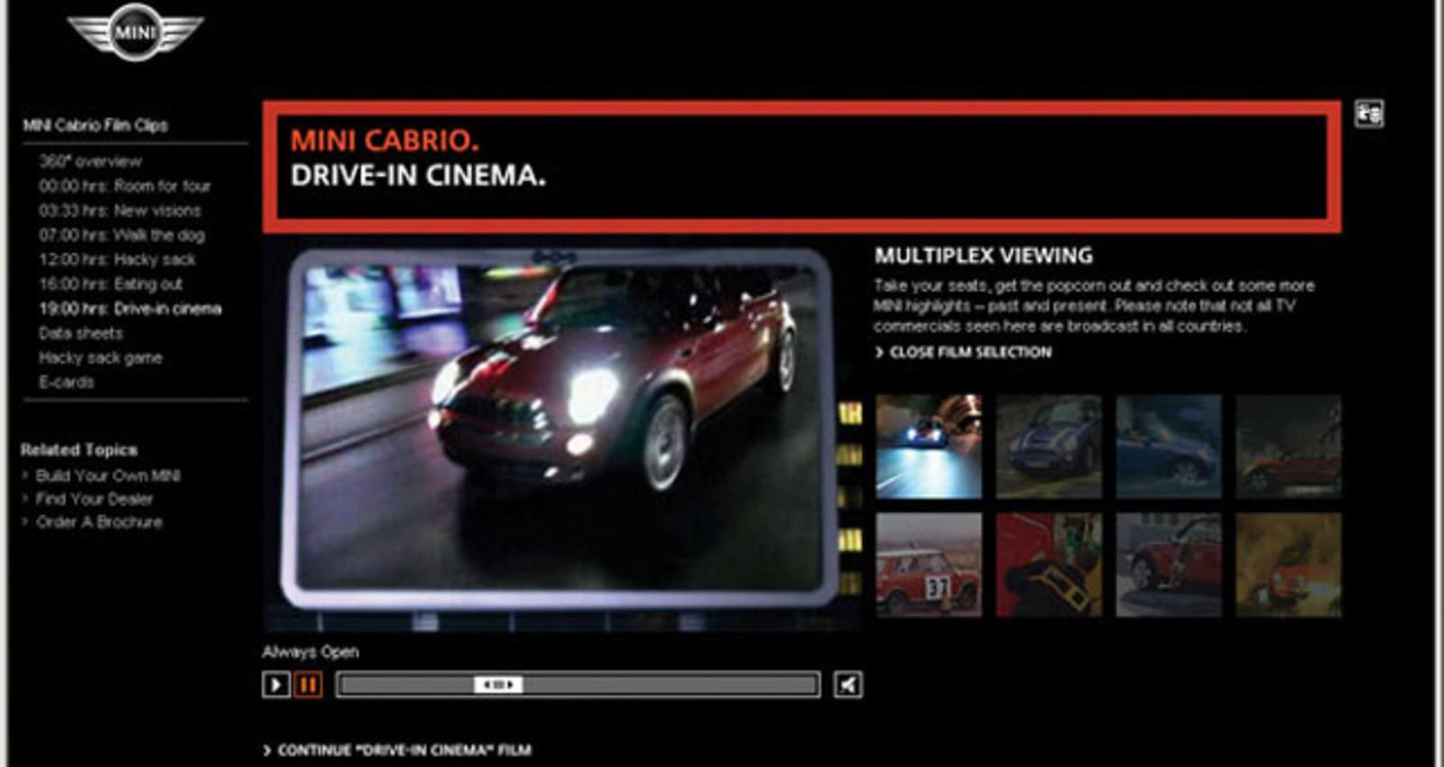 MINI Cabrio Film Clips