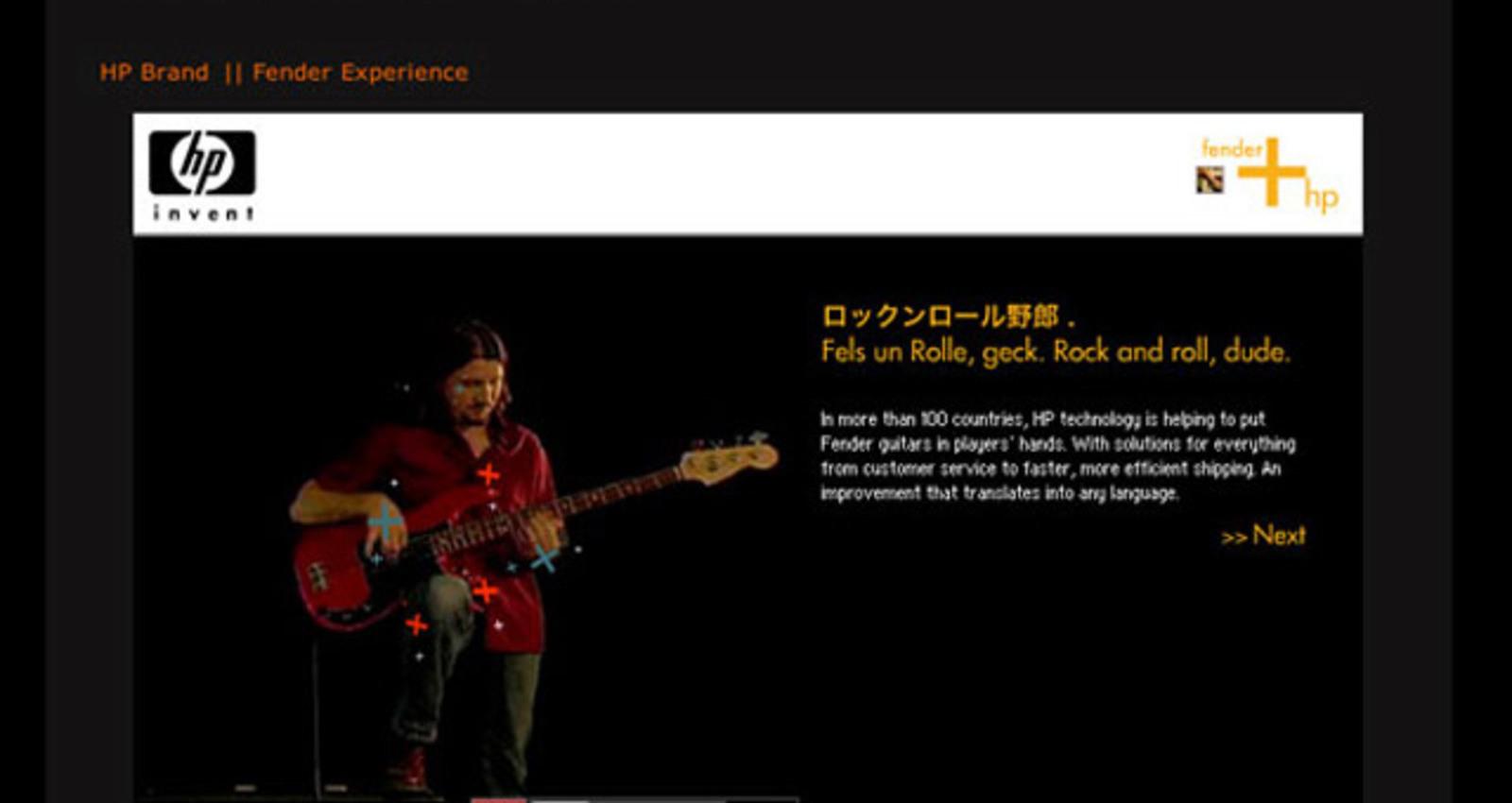 HP Fender Experience