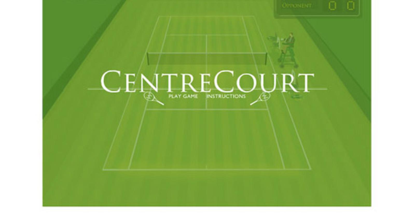 Wimbledon - Centre Court Game