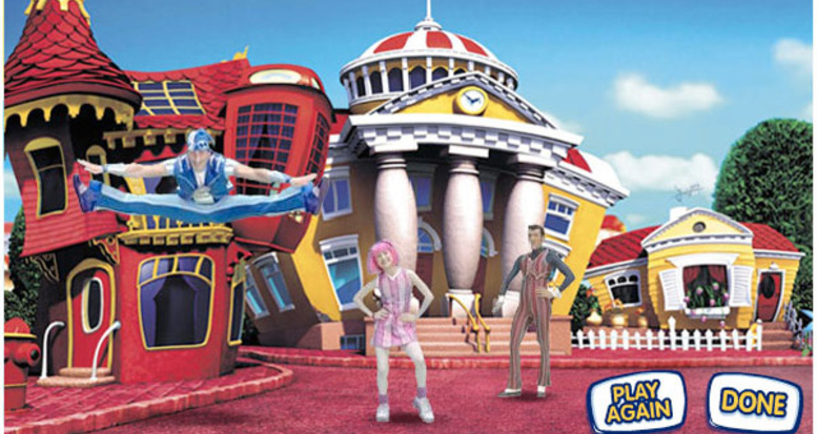 LazyTown Get Up and Move
