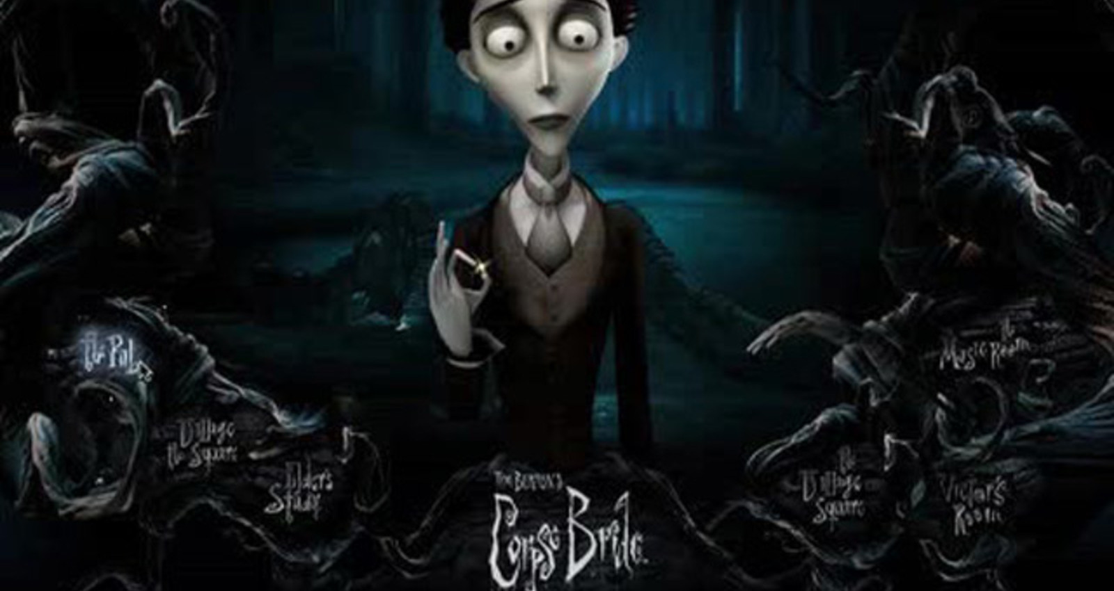 The Corpse Bride Official Movie Website