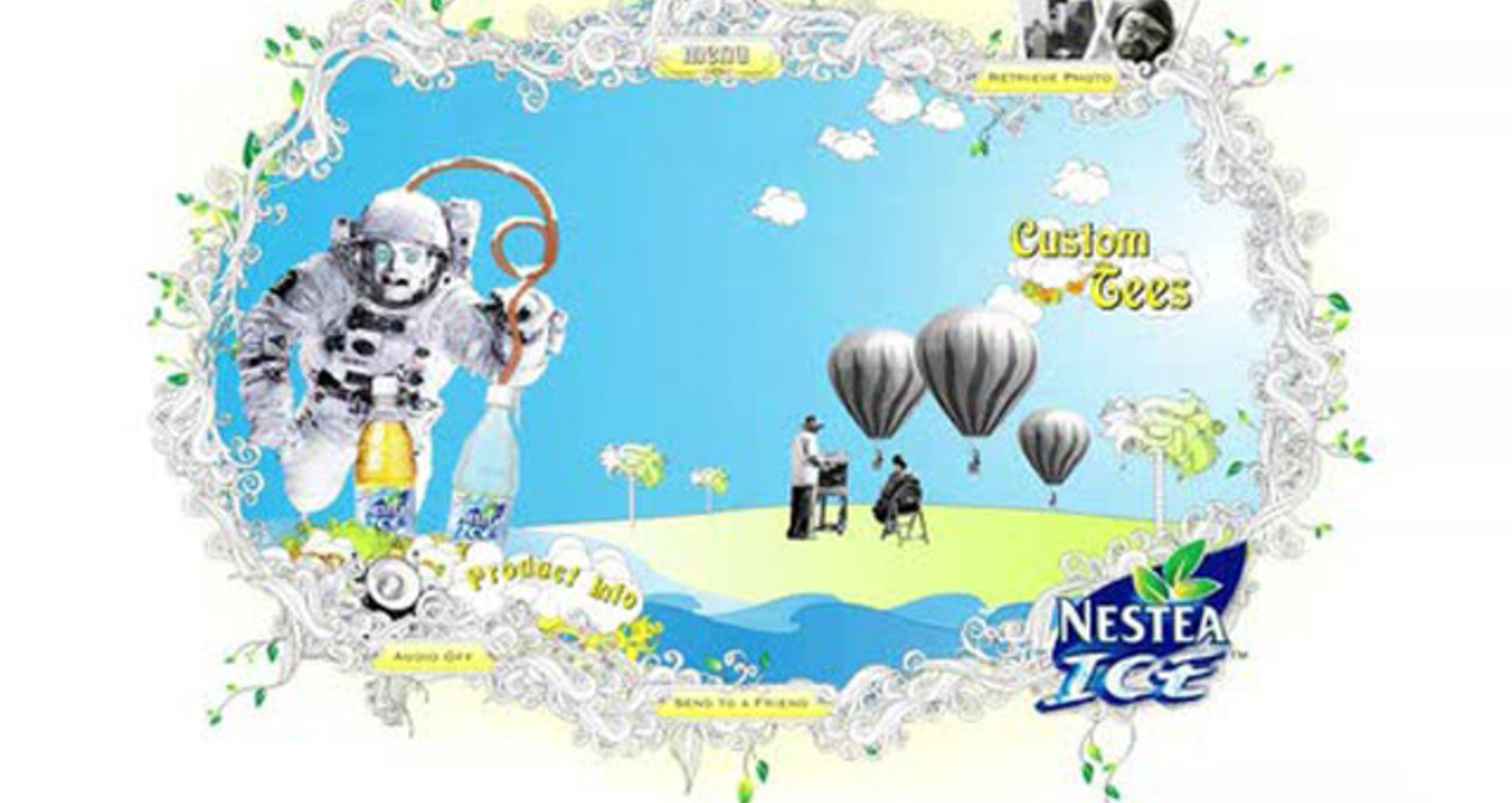 Nestea Ice Website