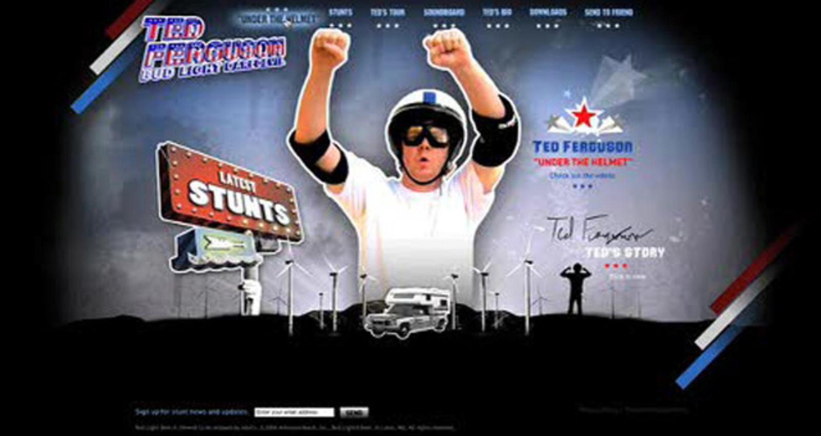Ted Ferguson Bud Light Daredevil