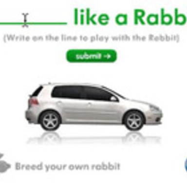 Blank Like A Rabbit Banner