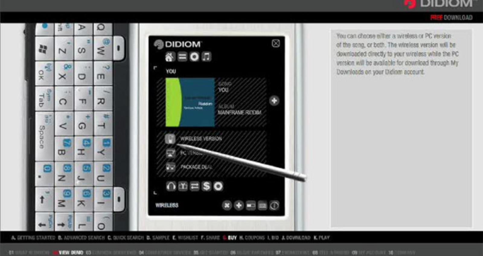 Didiom - Mobile Music Marketplace