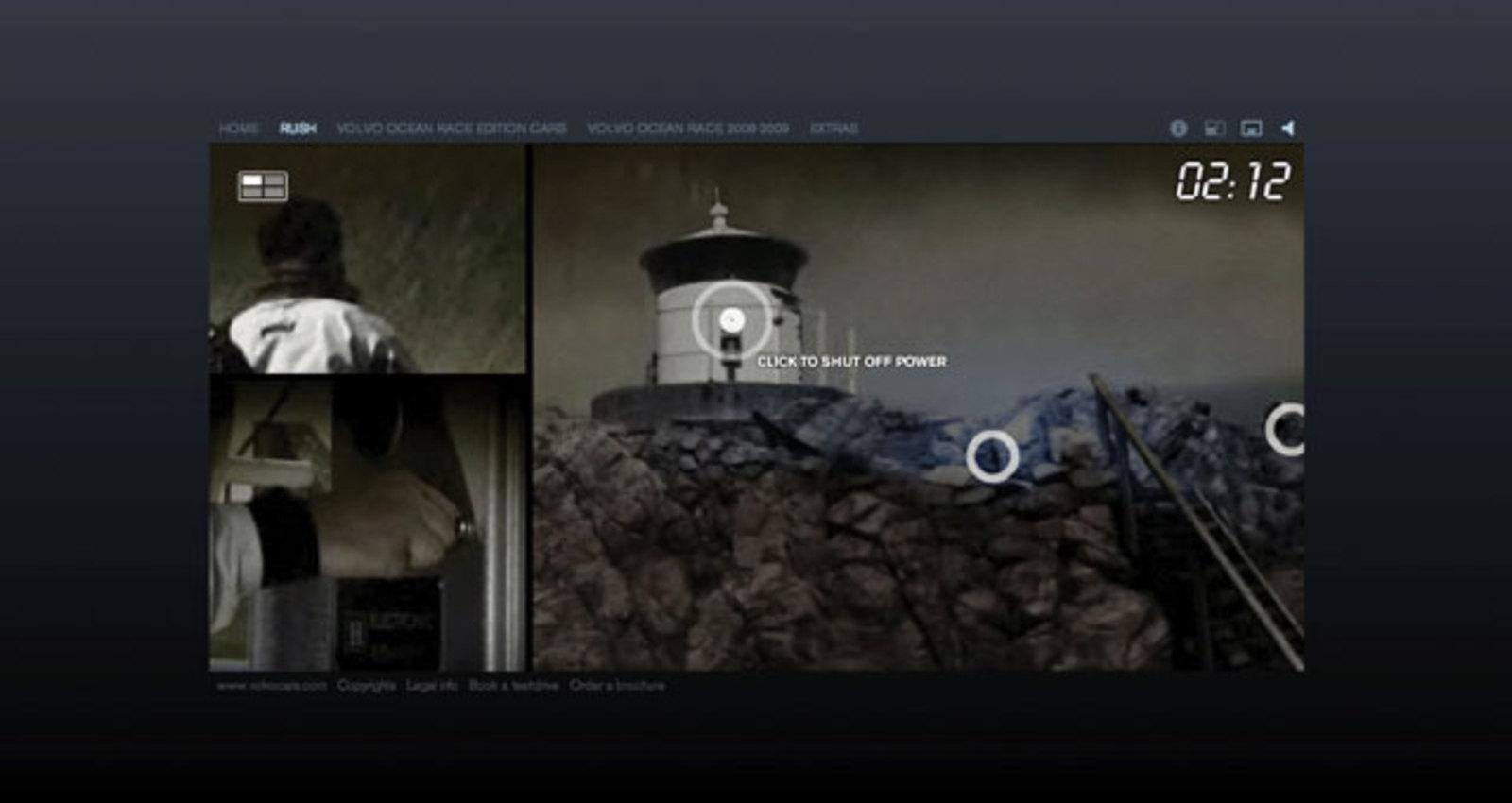 RUSH - An Interactive Adventure