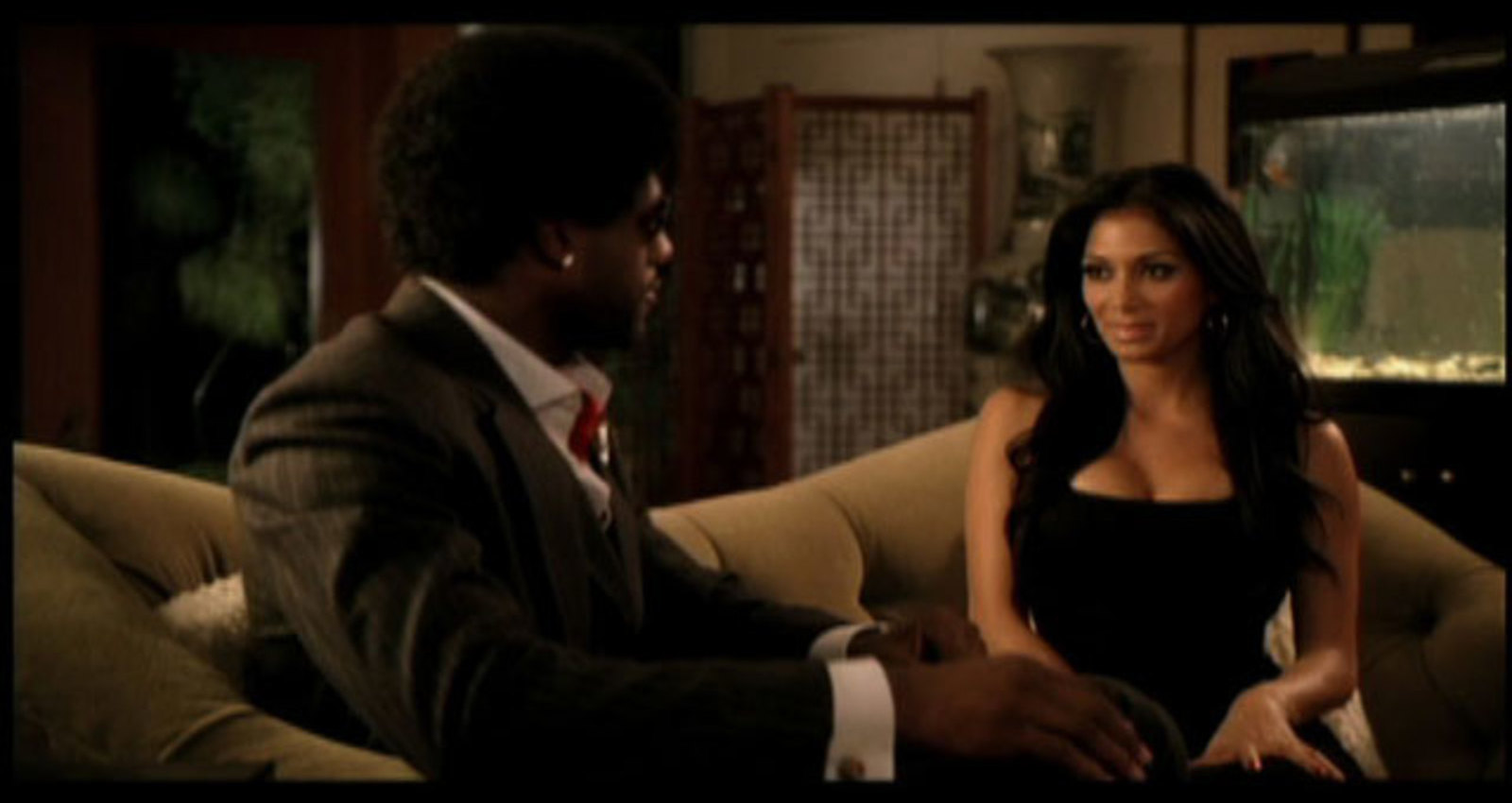 Business LeBron and Nicole Scherzinger