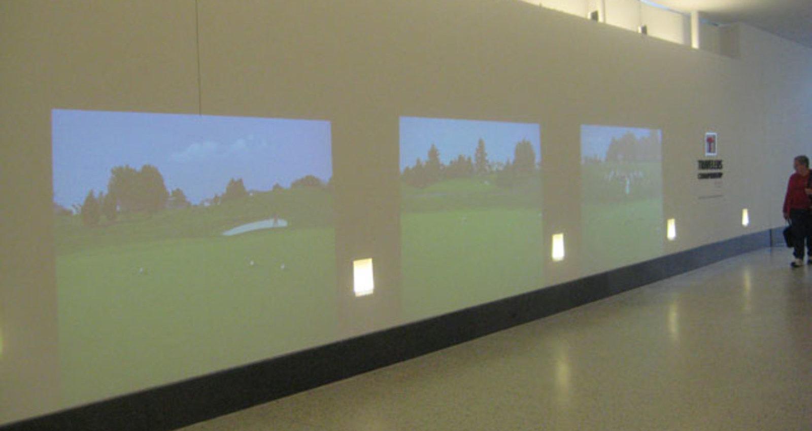 Shadow Golf Wall