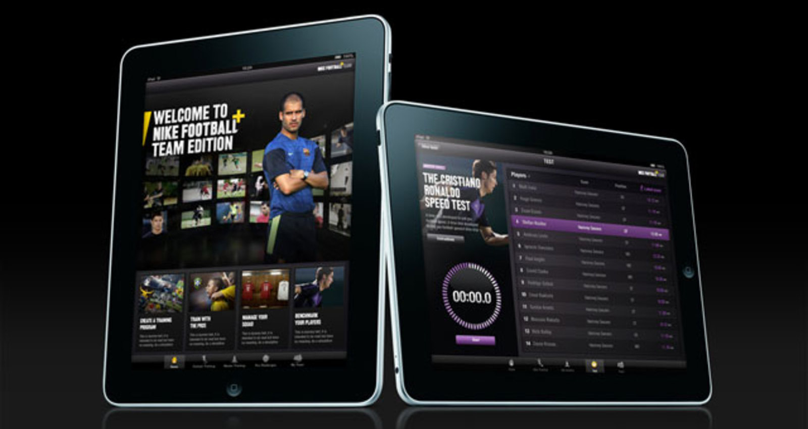 Nike Football+ Team Edition for iPad