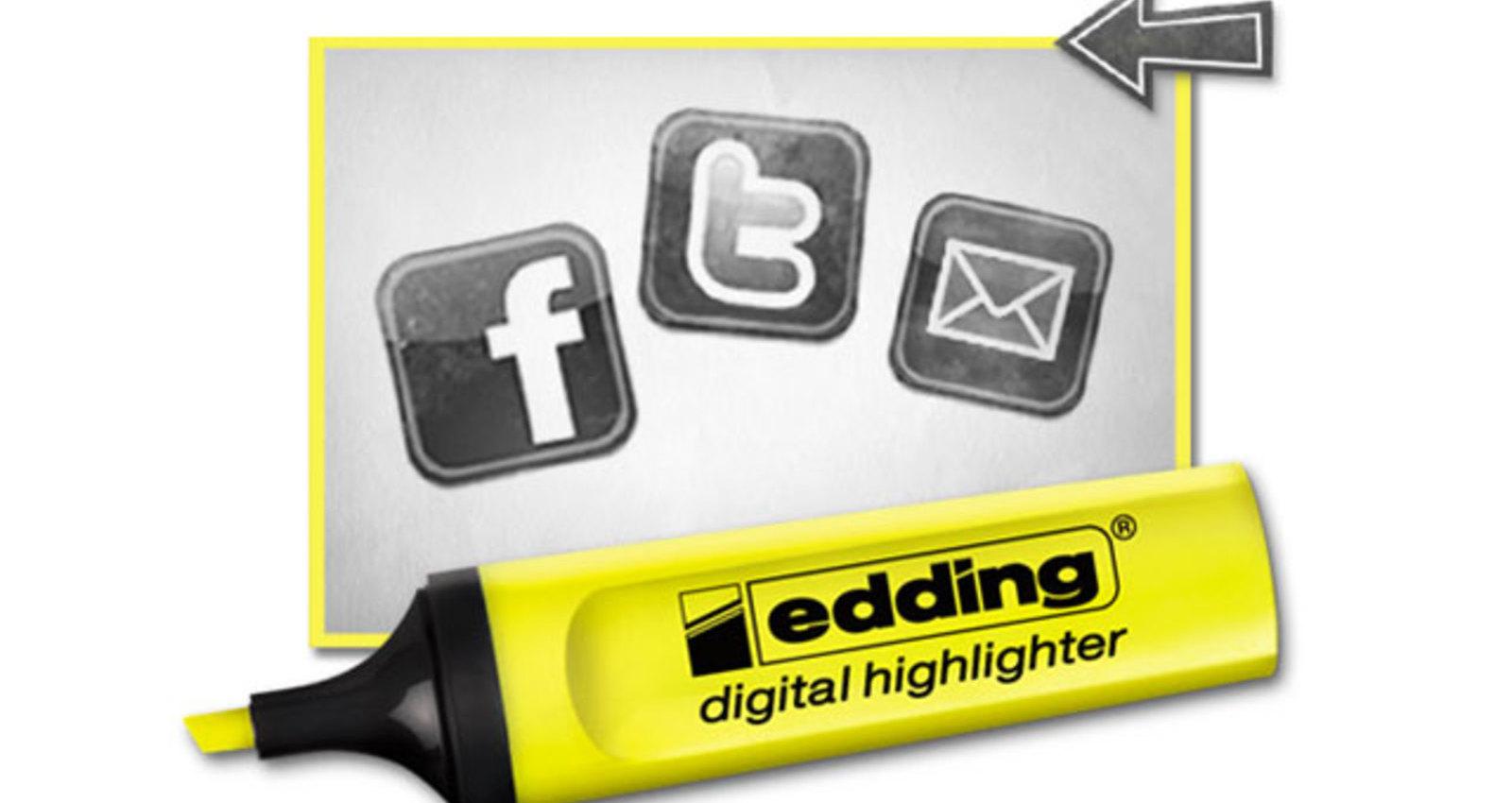 edding digital highlighter