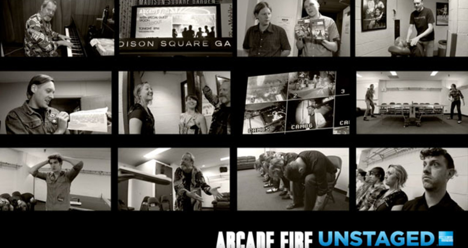 Arcade Fire UNSTAGED Pre-show