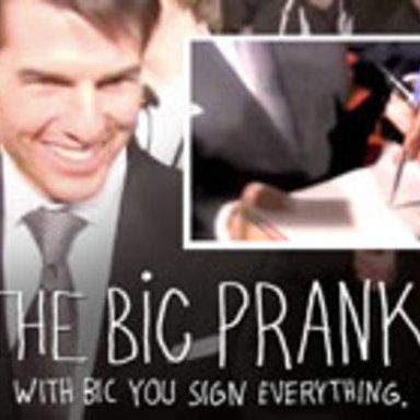 The BIC Prank