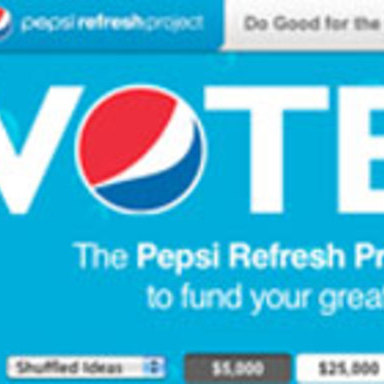 Pepsi Refresh Project: Do Good for the Gulf