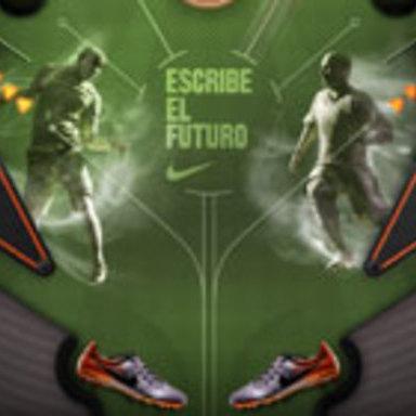 Nike Football Digital Pinball