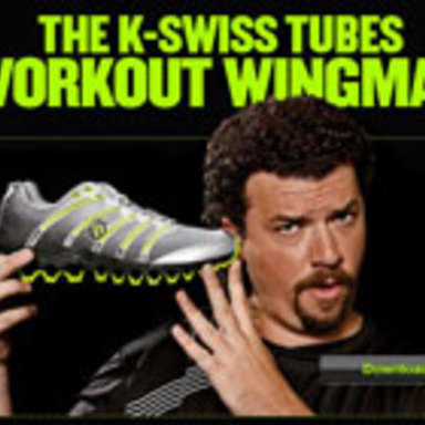 K-Swiss Workout Wingman Facebook Application