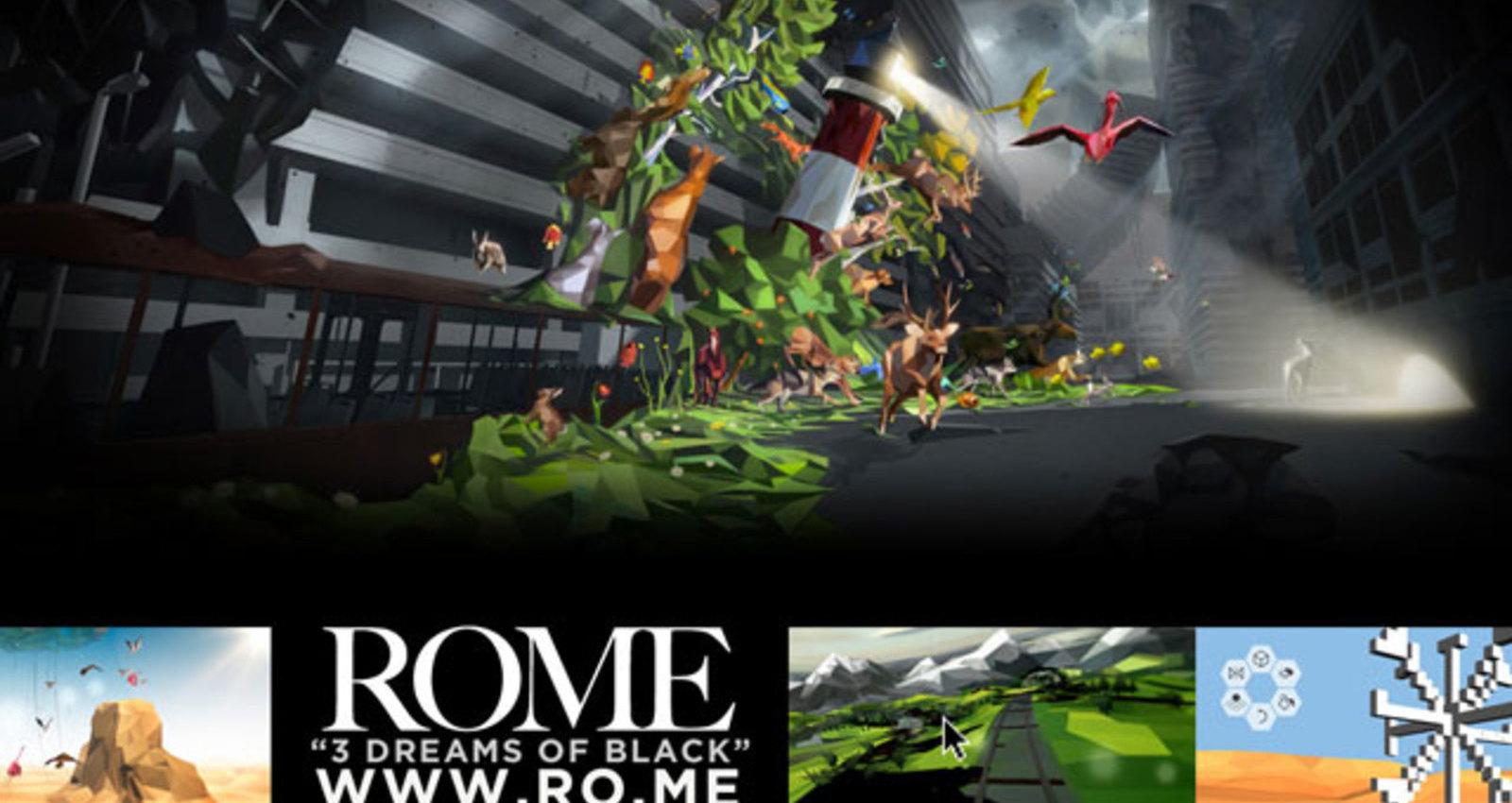 ROME - 3 Dreams of Black