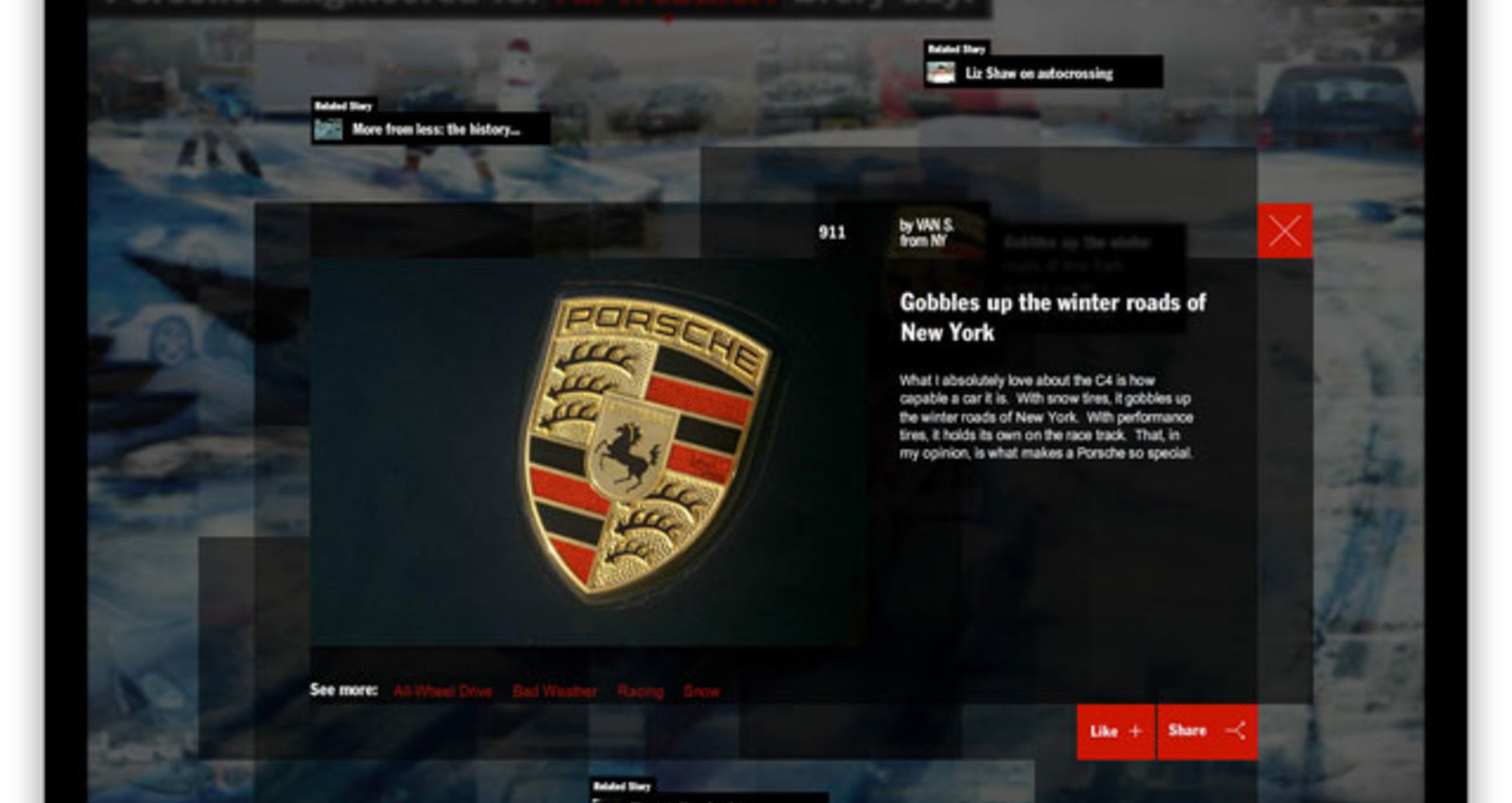 Porsche: Engineered for Magic, Everyday