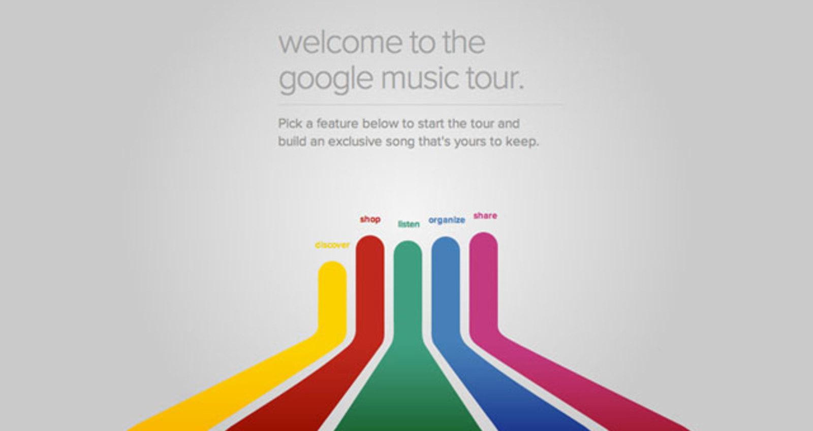 Google Music Tour