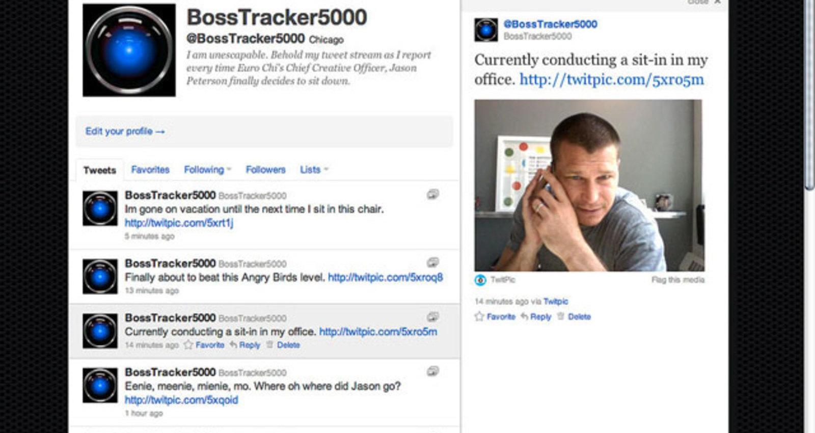 The BossTracker5000